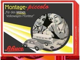 Schuco Piccolo Der kleine Volkswagen Monteur VW T1 Bus und VW Kaefer Piccolo Montagekasten
