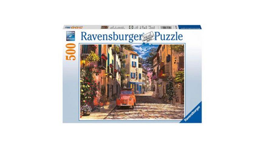 Ravensburger Puzzle Im Herzen Suedfrankreichs 500 Teile