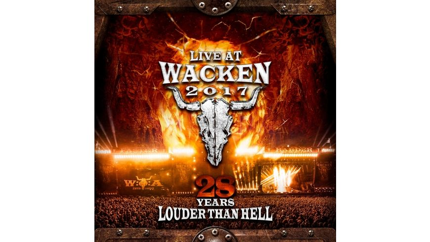 Live At Wacken 2017 28 Years Louder Than Hell