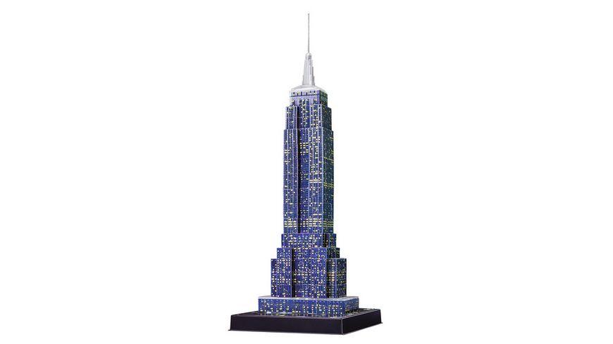 Ravensburger 3D Puzzle Empire State Building bei Nacht 216 Teile