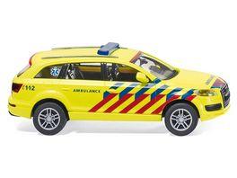 Wiking Notarzt Niederlande Audi Q7