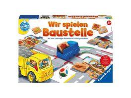 Ravensburger Spiel Wir spielen Baustelle