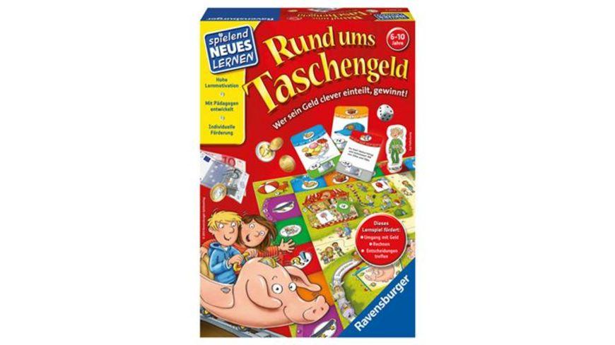 Ravensburger Spiel Rund ums Taschengeld