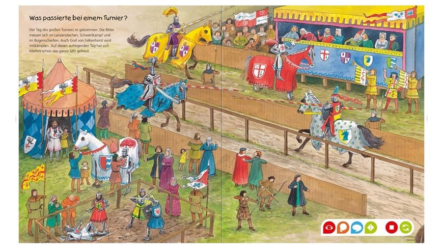 Ravensburger tiptoi Wieso Weshalb Warum Entdecke die Ritter