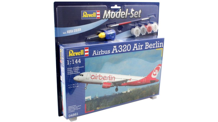 Revell 64861 Model Set Airbus A320 AirBerlin
