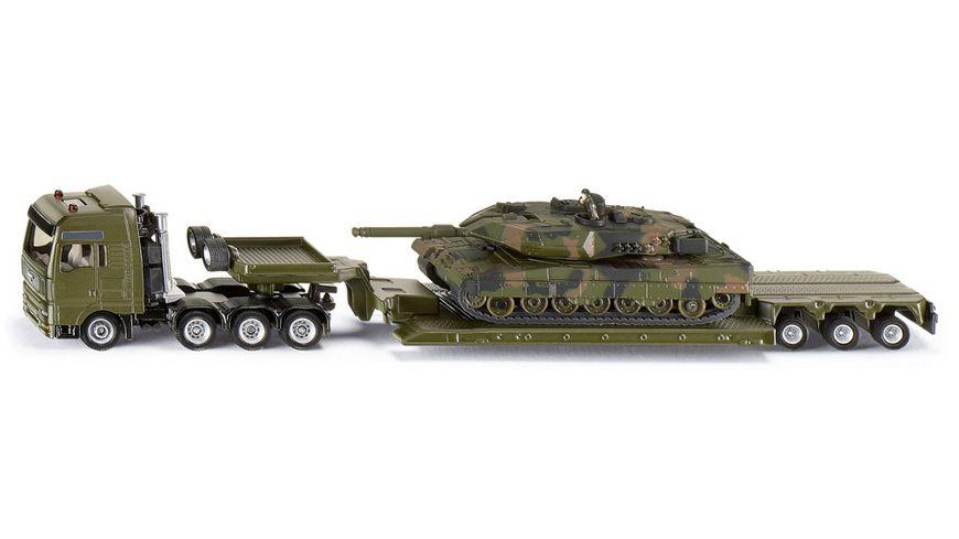 SIKU 1872 Super Schwertransport mit Panzer