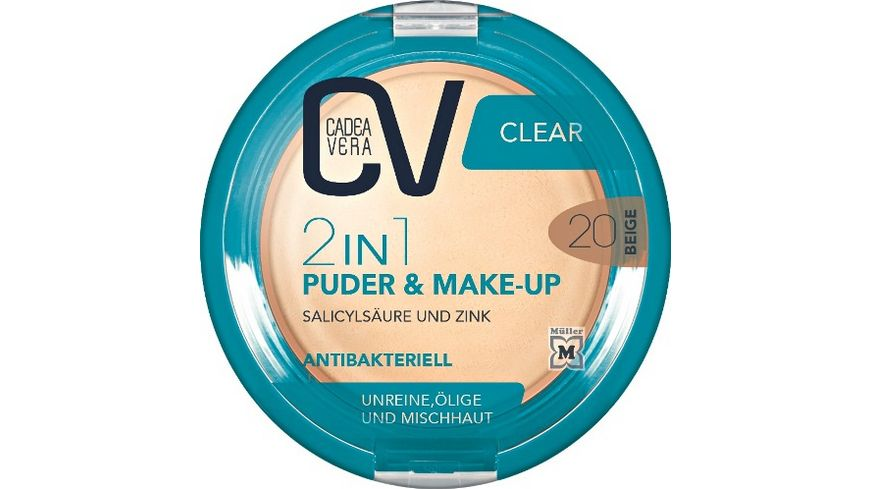 CV Clear 2in1 Puder Make Up 20
