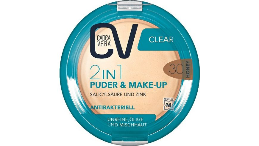 CV Clear 2in1 Puder Make Up 30
