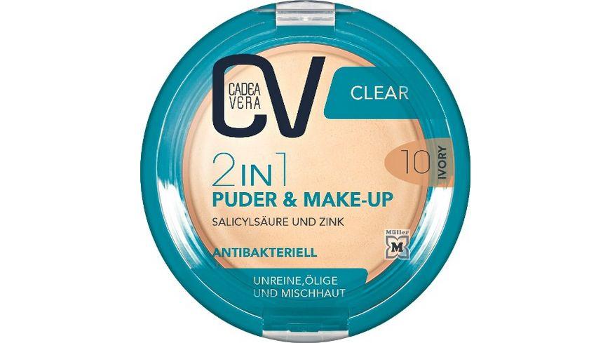 CV Clear 2in1 Puder Make Up 10