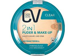 CV Clear 2in1 Puder Make Up 10