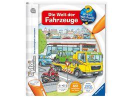 Ravensburger tiptoi Wieso Weshalb Warum Die Welt der Fahrzeuge zurueck