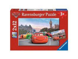 Ravensburger Puzzle Lightning McQueen und Freunde 2x12 Teile