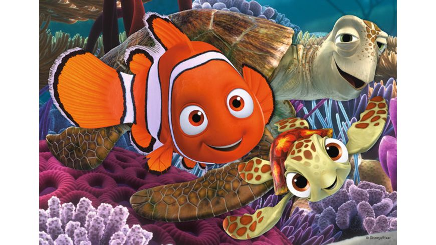 Ravensburger Puzzle Nemo kleine Ausreisser 2x12 Teile