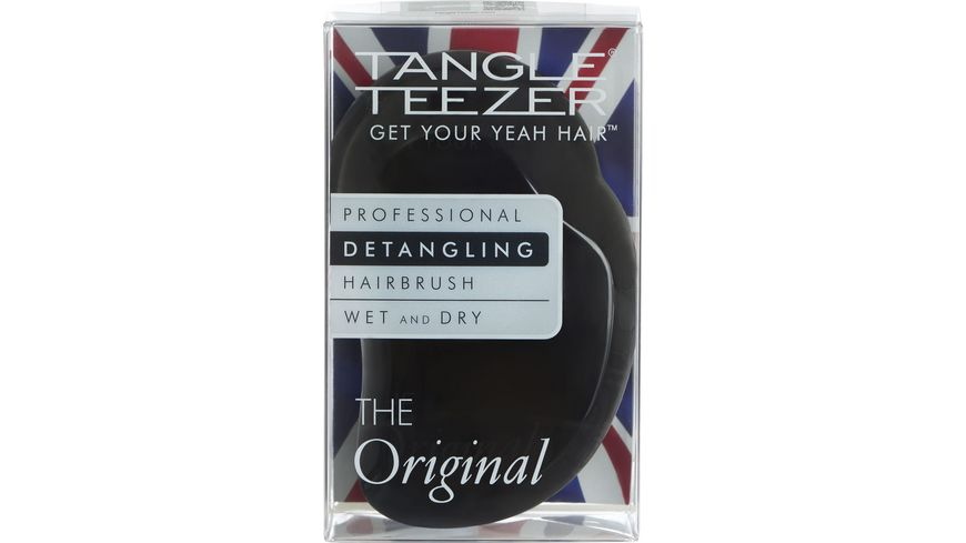 New Flag Tangle Teezer Original Haarbuerste Panther black