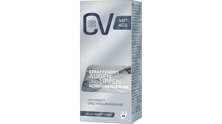 CV ANTI AGE Straffendes Augen und Lippenkonturen Serum