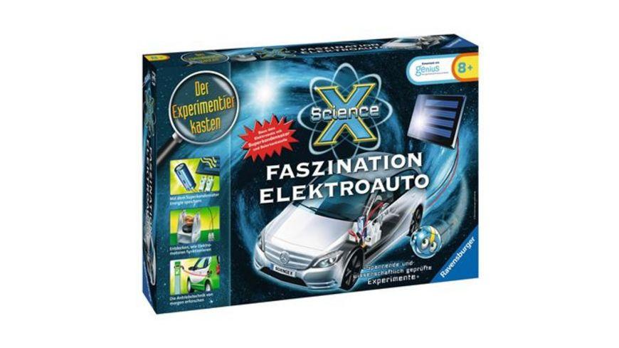 Ravensburger Beschaeftigung ScienceX Elektroauto