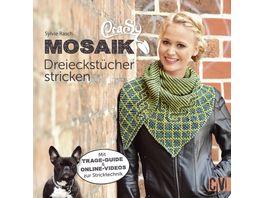 CraSy Mosaik Dreieckstuecher stricken