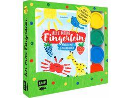 Alle meine Fingerlein Malen mit Fingerfarben Das Fingerfarben Set