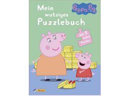 Peppa Mein wutziges Puzzlebuch Mit 5 tollen Puzzles