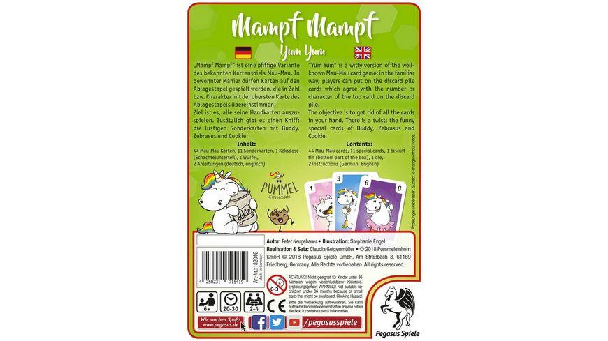 Pegasus Pummeleinhorn Mampf Mampf MauMau