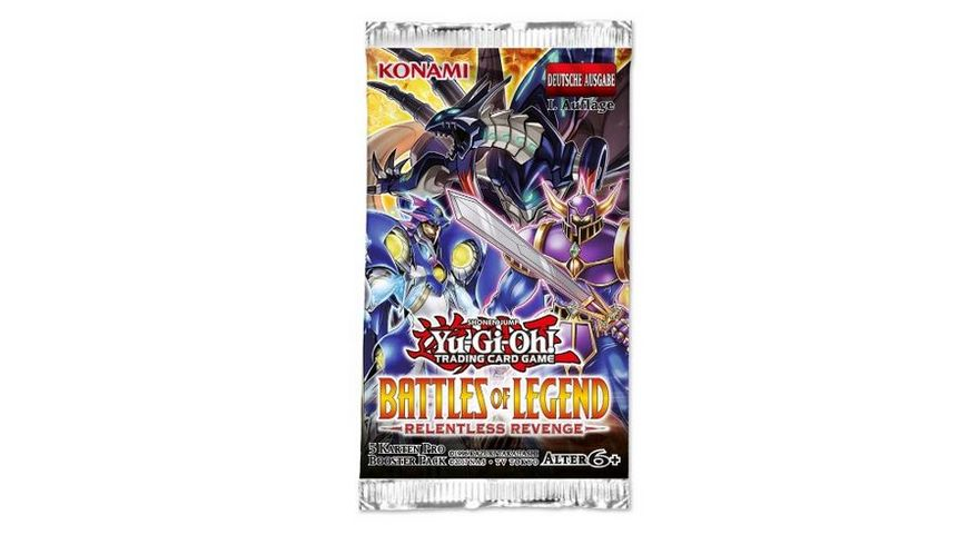 Yu Gi Oh Sammelkartenspiel Battles of Legend Relentless Revenge Booster
