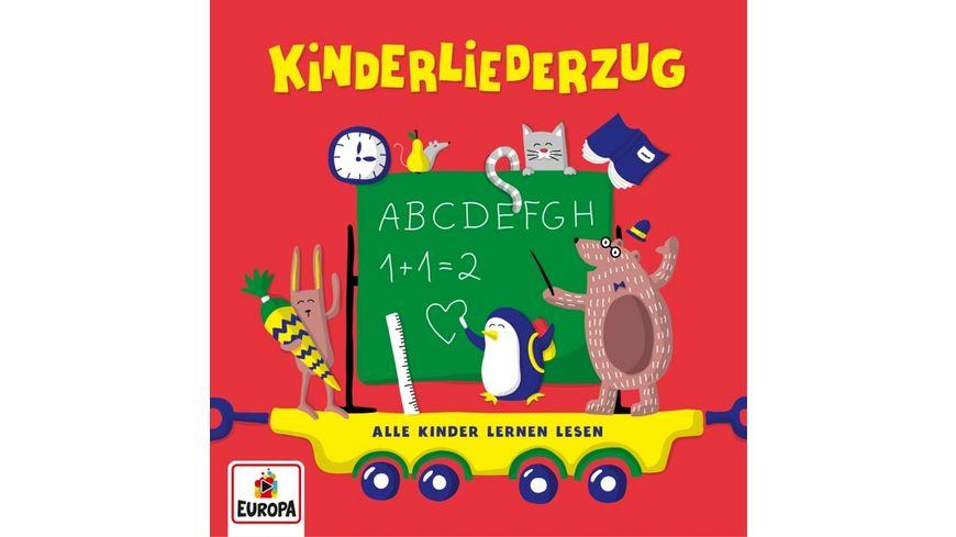 Kinderliederzug Alle Kinder lernen lesen