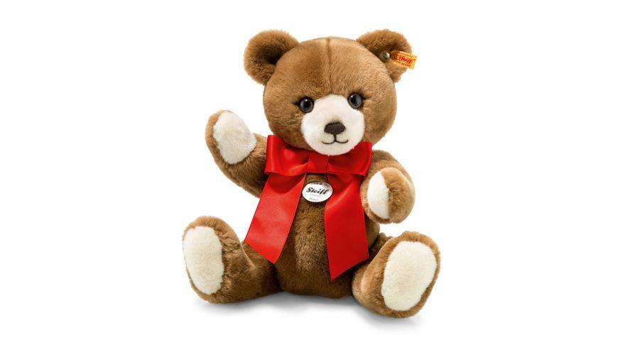 Steiff Teddybaeren Teddybaeren fuer Kinder Petsy Teddybaer Caramel 28 cm