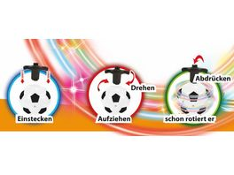 Gutoys LED Fussball Laserkreisel 1 Stueck