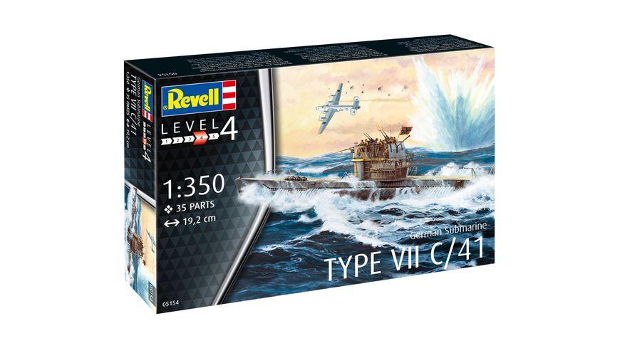 Revell 05154 U Boot Typ VII C 41