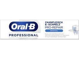 Oral B Professional Zahnfleisch und schmelz Original Zahnpasta 75 ml