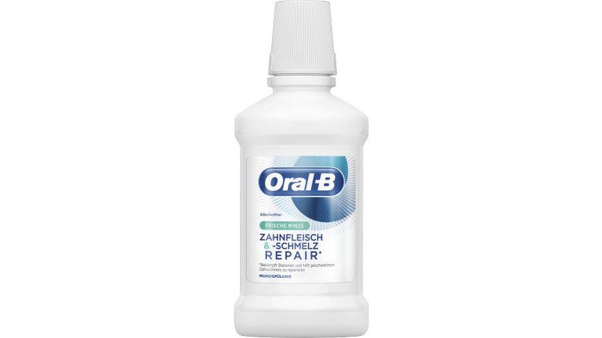 Oral B Zahnfleisch schmelz Mundspuelung Frische Minze 250 ml