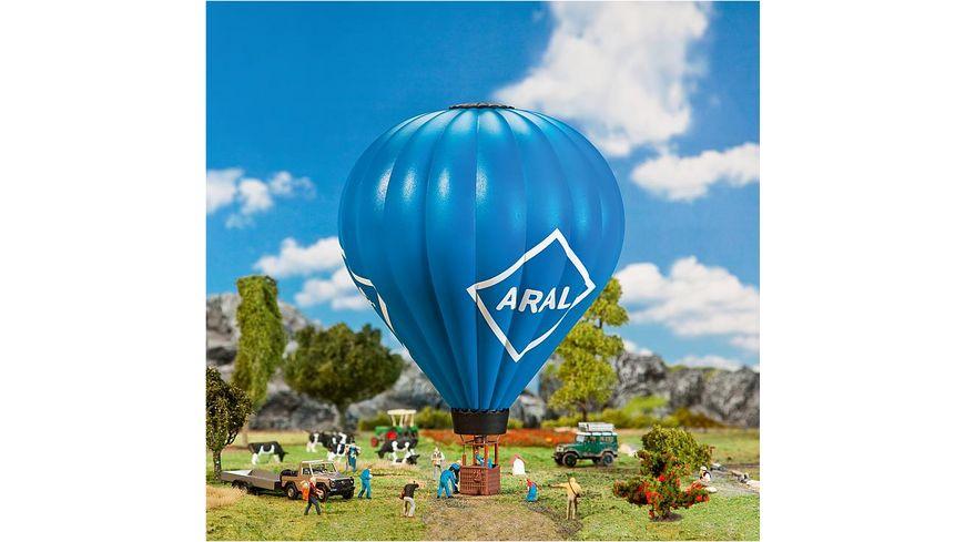 Faller 131001 H0 Programm Die Stadt das Dorf Zubehoer Ausschmueckung Heissluftballon mit Gasflamme