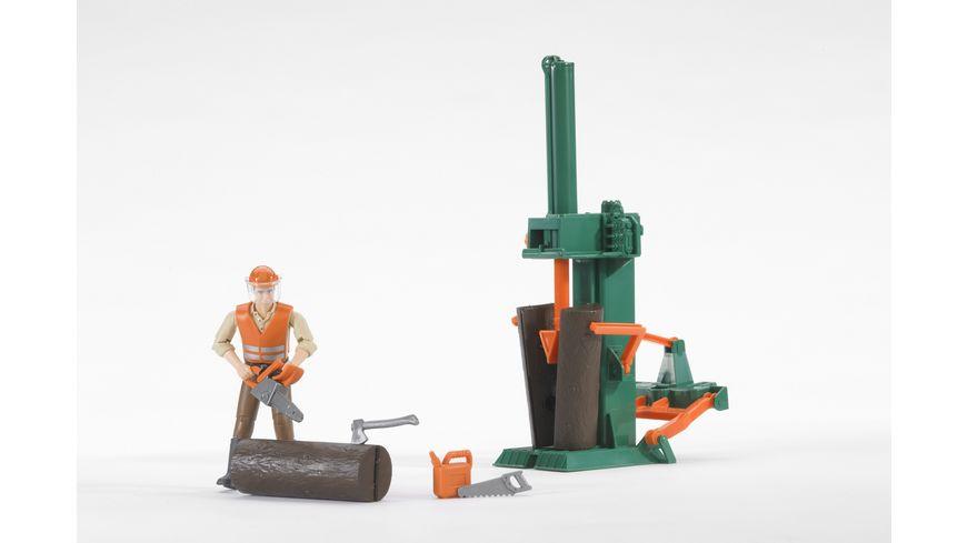 BRUDER Figurenset Forstwirtschaft 62650