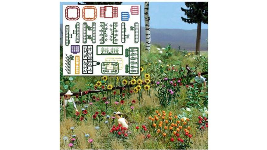 BUSCH 1258 H0 - Natur Pur Blumen- und Pflanzen-Set