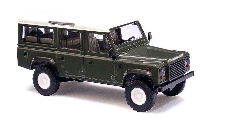 Busch 50301 Automodell Land Rover Defender Gruen