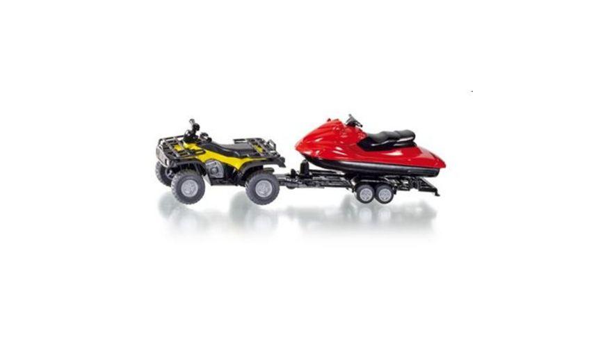 SIKU 2314 Super Quad mit Jet Ski