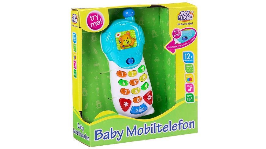 Mueller Toy Place Baby Mobiltelefon
