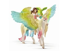 Schleich 70566 bayala Surah mit Glitzer Pegasus