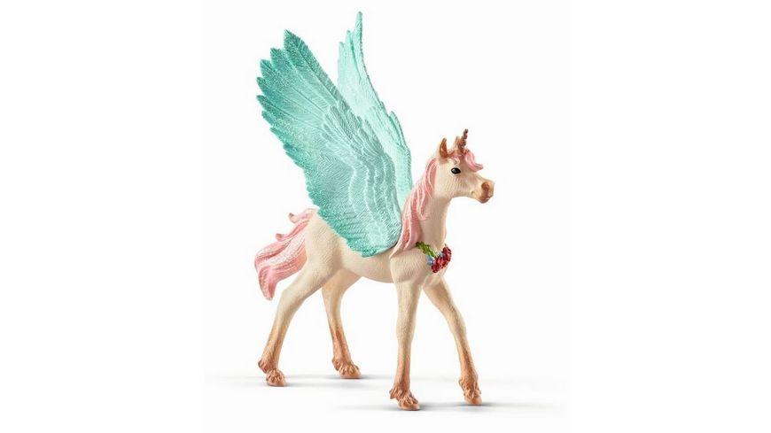 Schleich bayala Schmuckeinhorn Pegasus Fohlen