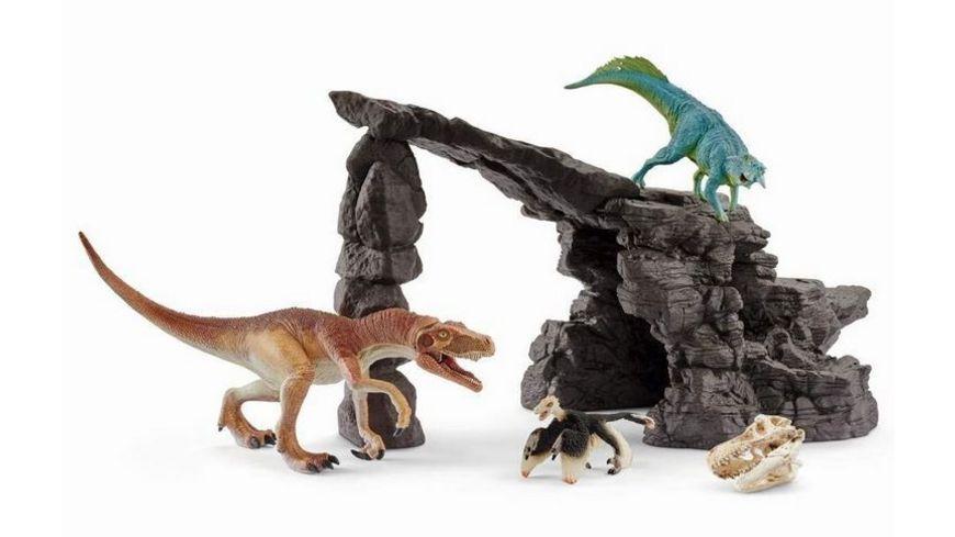 Schleich Dinosaurier Dinoset mit Hoehle