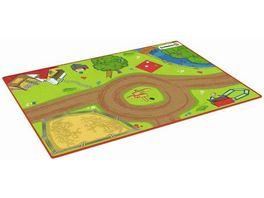 Schleich 42442 Farm World Spielteppich Bauernhof