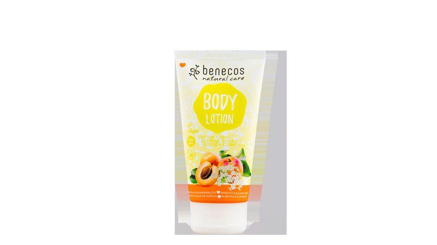 BENECOS Natural Body Lotion Aprikose Holunderbluete