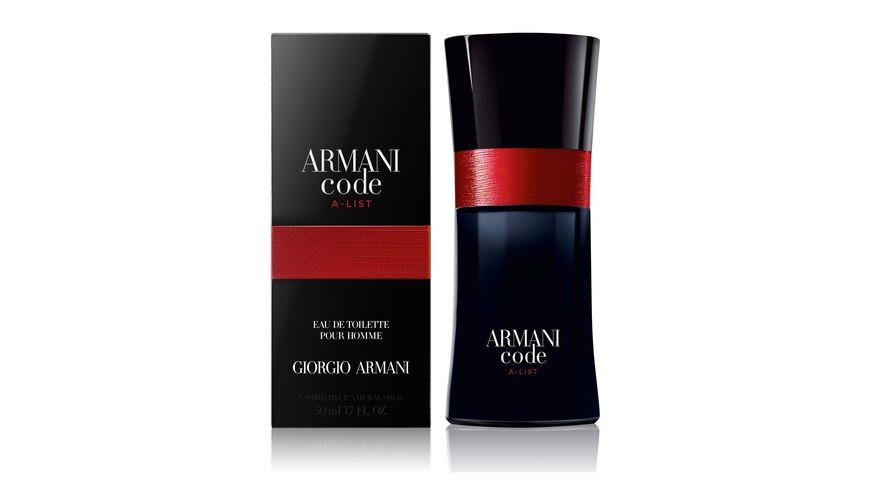 GIORGIO ARMANI Code Homme A List Eau de Toilette