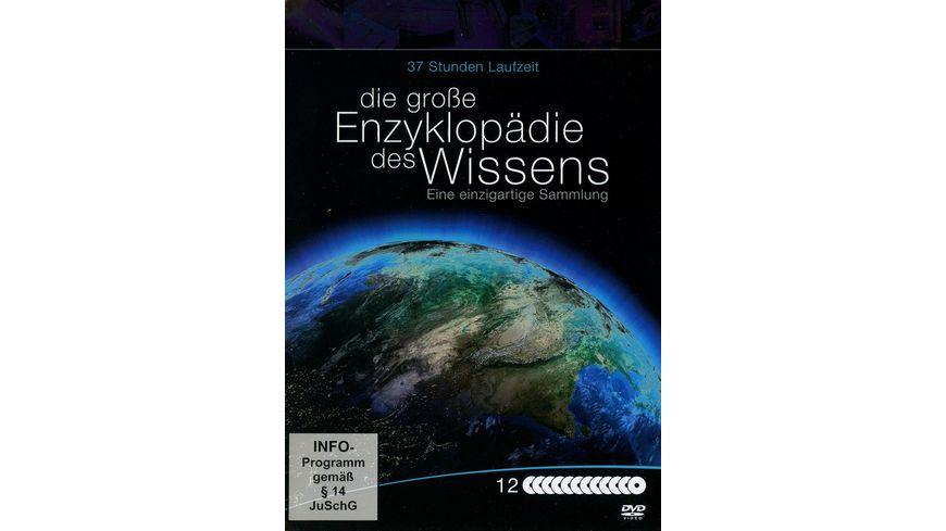 Die grosse Enzyklopaedie des Wissens Metallbox 12 DVDs