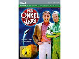 Mein Onkel vom Mars Vol 2 Weitere 11 Folgen der Kult Serie Pidax Serien Klassiker Pidax Serien Klassiker 2 DVDs