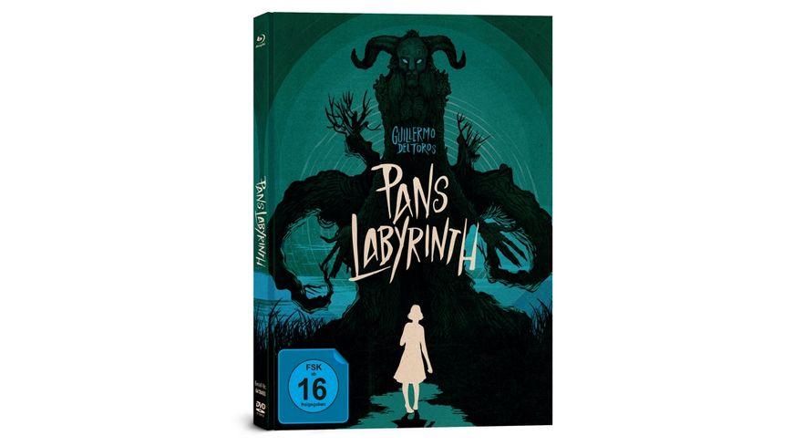 Pans Labyrinth Mediabook 3 Disc Limited Collector s Edition Blu ray DVD Bonus Blu ray