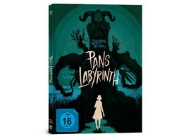 Pans Labyrinth Mediabook 3 Disc Limited Collector s Edition Blu ray DVD Bonus Blu ray