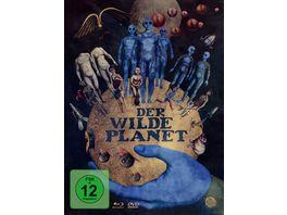 Der wilde Planet Limited Edition Mediabook Blu ray 2 DVDs
