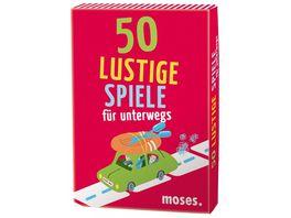 moses 50 lustige Spiele fuer unterwegs