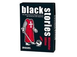 moses black stories Mittelalter Edition